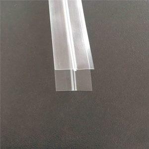 حقيبة بلاستيكية شفافة سحاب